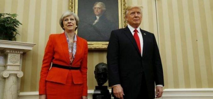 დიდი ბრიტანეთის პრემიერ-მინისტრმა, ტერეზა მეიმ აშშ-ის პრეზიდენტი დონალდ ტრამპი ტვიტერზე მისი პოსტის გამო გააკრიტიკა