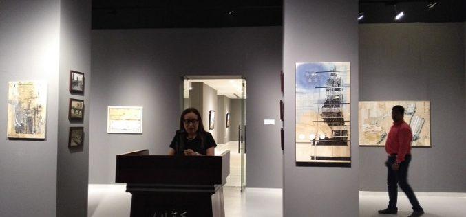 """კატარის ქალაქ დოჰაში,  """"ვანდას"""" ორგანიზებით, თანამედროვე ქართველი მხატვრების გამოფენა გაიხსნა."""