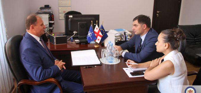 საგარეო საქმეთა მინისტრის მოადგილე მოლდოვის რესპუბლიკის ელჩს შეხვდა