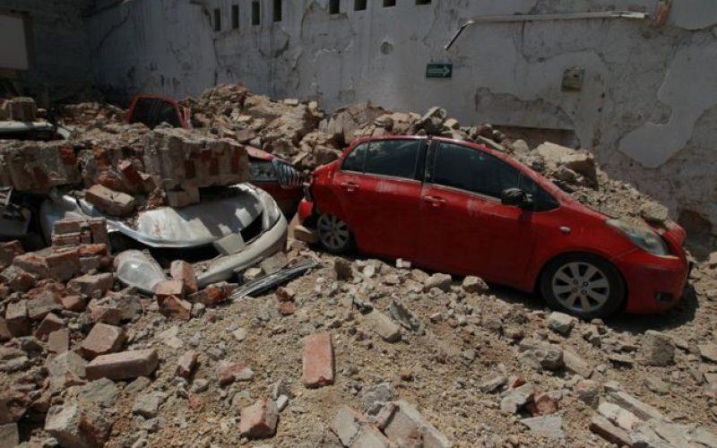 მექსიკაში 7,1 მაგნიტუდის სიმძლავრის მიწისძვრის შედეგად დაღუპულია 250-მდე ადამიანი.იხილეთ ფოტოები
