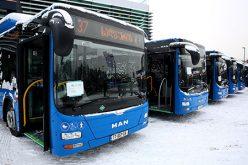 დღეს, 15 სექტემბერს, ახალი ავტობუსები გავიდა #150 სამარშრუტო ხაზზე