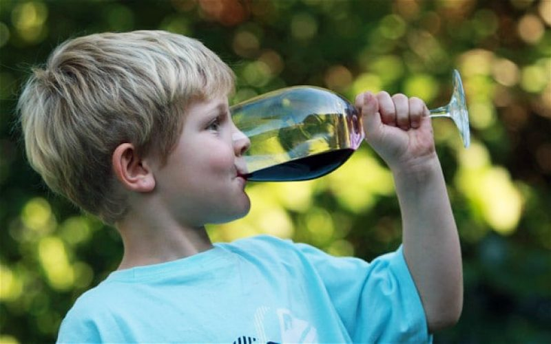 როგორ გამოიყენება ღვინო პედიატრიაში