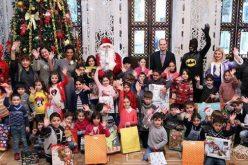 საქართველოს საგარეო საქმეთა სამინისტროს ინიციატივით 2018 წლის 17 იანვარს, თბილისს, საოკუპაციო ხაზის გასწვრივ მდებარე სოფლებში მცხოვრები ბავშვები ეწვივნენ