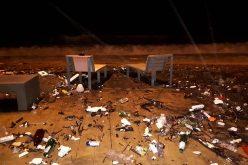 შავი ზღვის სანაპიროზე წუხელ 5-ბალიანი შტორმი დაფიქსირდა