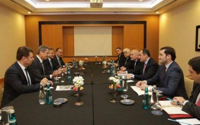 ეკონომიკისა და მდგრადი განვითარების მინისტრი დიმიტრი ქუმსიშვილი თურქეთში ვიზიტით იმყოფება