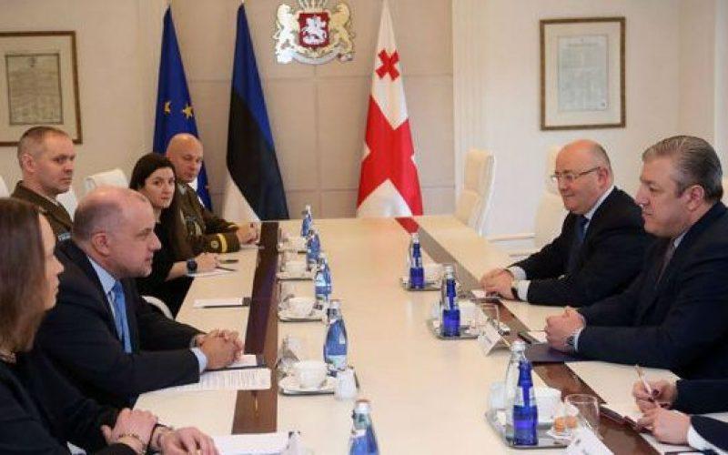 ესტონეთის თავდაცვის მინისტრი – ესტონეთი პატარა, თუმცა საქართველოს დიდი მეგობარი ქვეყანაა