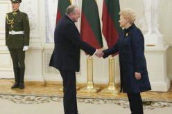 საქართველოს პრეზიდენტმა ევროპელ ლიდერებთან ერთად დალია გრიბაუსკაიტეს ლიტვის დამოუკიდებლობის 100 წლის იუბილე მიულოცა