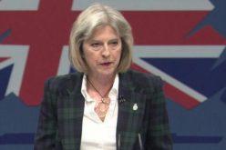 """ტერეზა მეი-""""დიდი ბრიტანეთის მთავრობა მუდმივად მოუწოდებს პუტინის ადმინისტრაციას, საქართველოს ოკუპირებული ტერიტორიებიდან ჯარი გაიყვანოს """""""