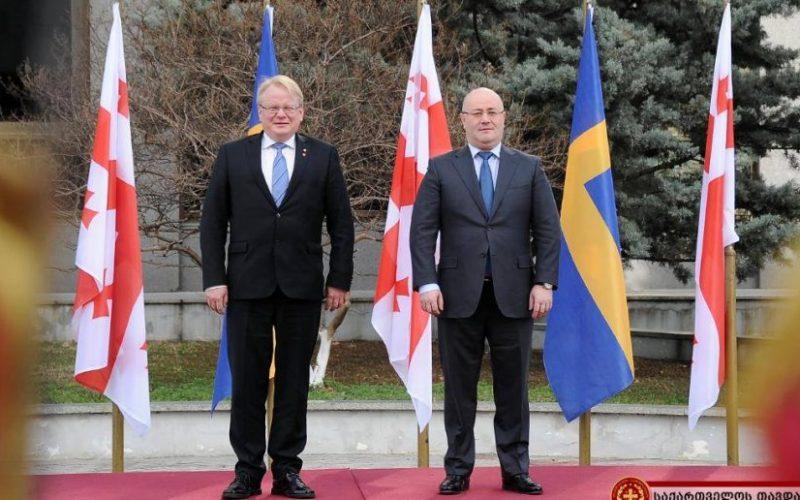 """შვედეთის სამეფო 2019 წელს """"ნატო-საქართველოს სწავლებაში"""" ჩაერთვება"""