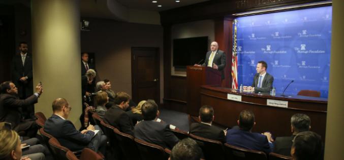 """""""საქართველოს მხარდაჭერის აქტი ისტორიული ნაბიჯი იქნება, რომელიც საკანონმდებლო დონეზე გაამყარებს აშშ-სთან საქართველოს განსაკუთრებული მოკავშირის სტატუსს"""""""