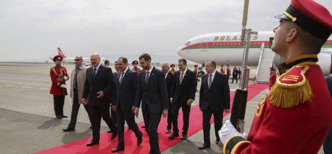 ბელარუსის პრეზიდენტმა ალექსანდრე ლუკაშენკომ თბილისში ოფიციალური ვიზიტი დაიწყო.
