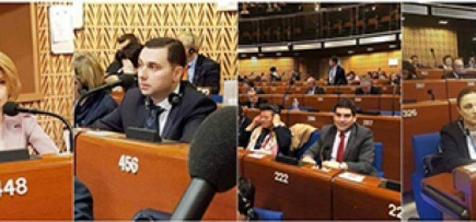 ქართული დელეგაცია ევროპის საბჭოს კონგრესში ვიზიტს განაგრძობს.