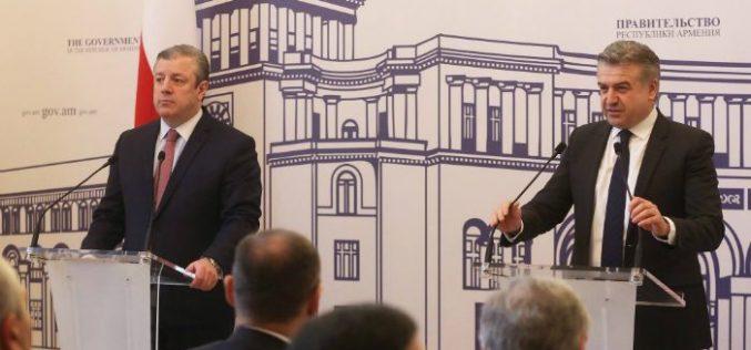 სომხურ-ქართული თანამშრომლობა ურთიერთნდობის ატმოსფეროში გრძელდება-კარენ კარაპეტიანი