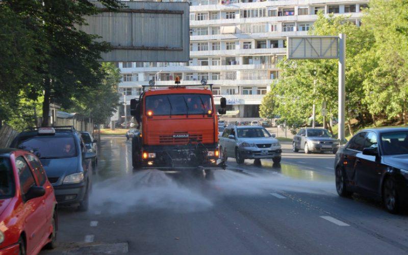 მიმდინარე კვირაში დედაქალაქის ცენტრალური ქუჩების მორეცხვისა და გამწვანების სამუშაოები დაიწყება.