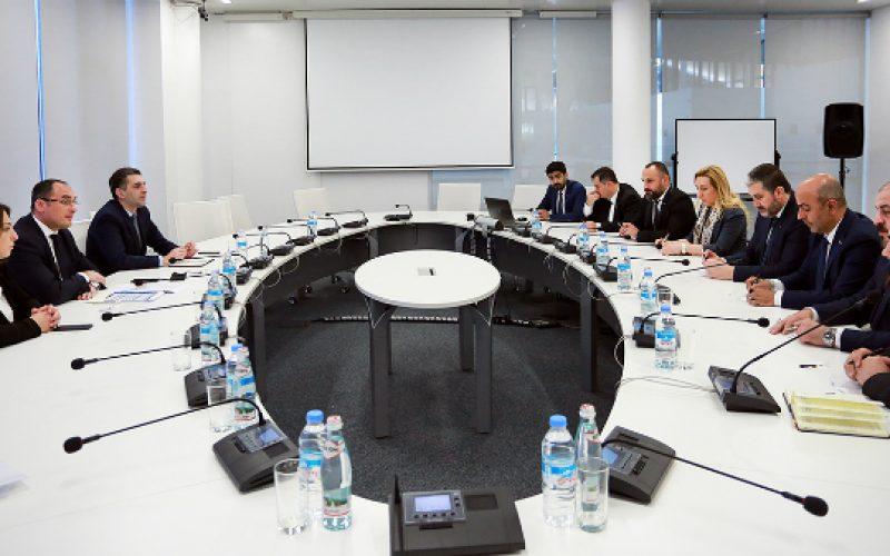 დიმიტრი ქუმსიშვილი დამოუკიდებელ თურქ მრეწველთა და ბიზნესმენთა ასოციაციის (MUSIAD) დელეგაციას შეხვდა