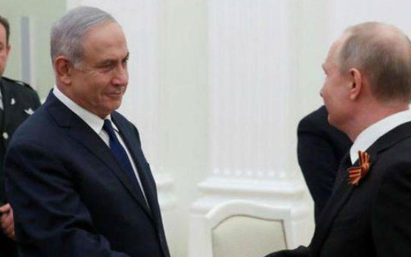 ისრაელის პრემიერ-მინისტრი ბენიამინ ნათენიაჰუ, ოფიციალური ვიზიტის ფარგლებში, რუსეთის ფედერაციის პრეზიდენტ ვლადიმერ პუტინს, მოსკოვში შეხვდა