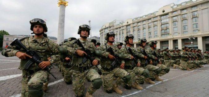 თბილისში, თავისუფლების მოედანზე, ღვთისა და ერის წინაშე, სამხედრო ფიცი საწყისი საბრძოლო მომზადების ცენტრის 366 რეკრუტმა და 123 წვევამდელმა დადო.