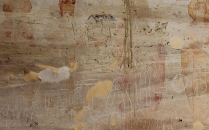 დავით გარეჯის სამონასტრო კომპლექსის ტერიტორიაზე, უდაბნოს მთავარ ეკლესიასა და სატრაპეზოში უნიკალური ფრესკები დააზიანეს.