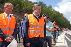 საქართველოს პრემიერ-მინისტრი გიორგი კვირიკაშვილი წყნეთი-ბეთანიის გზის სარეაბილიტაციო სამუშაოებს გაეცნო