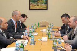 მამუკა ბახტაძე EBRD-ის პრეზიდენტ სერ სუმა ჩაკრაბარტის შეხვდა.