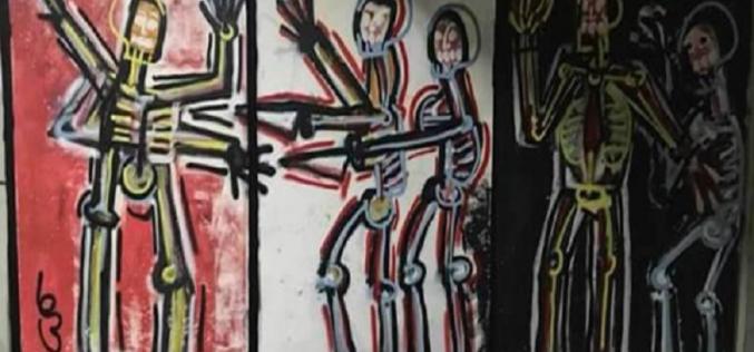 თბილისში ხორავას ქუჩის საქმეზე გამოტანილი განაჩენი და გამოძიებაში არსებულ კითხვები ქუჩის მხატვრობით გააპროტესტეს.