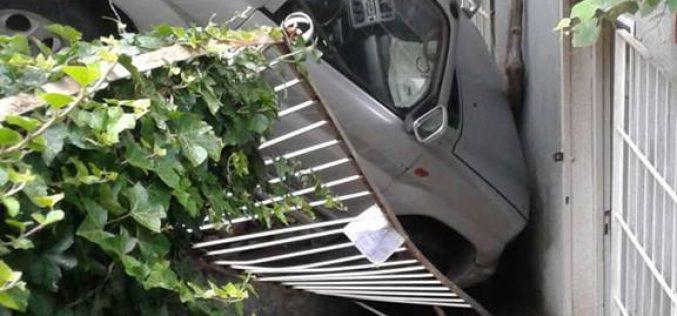 თბილისში, პარლამენტის მიმდებარე ტერიტორიაზე, ავტოსაგზაო შემთხვევა მოხდა