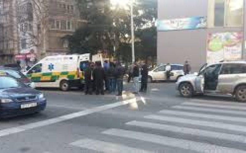 თბილისში, წერეთლის გამზირზე, ავტოსაგზაო შემთხვევის შედეგად, ერთი ადამიანი დაშავდა.
