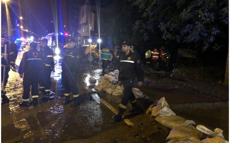 ძლიერი წვიმის გამო, საგანგებო სიტუაციების სამსახურში 153 შეტყობინება შევიდა