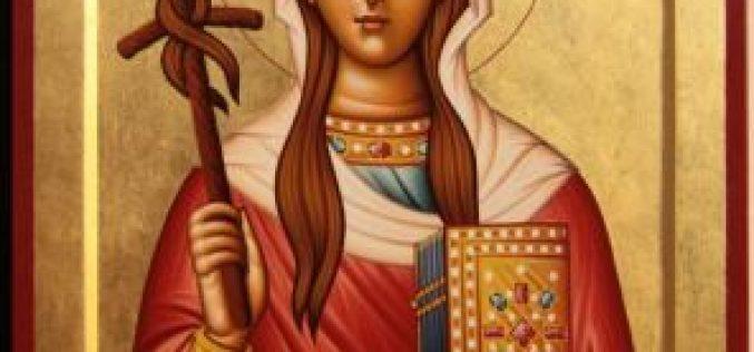 დღეს, მართლმადიდებელი ეკლესია წმინდა ნინოს საქართველოში შემოსვლის დღეს აღნიშნავს.