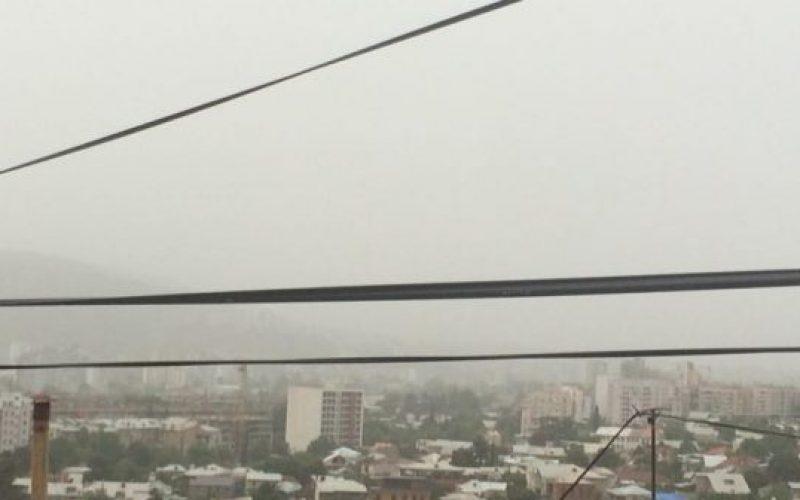 თბილისში უჩვეულო ნისლის შესახებ გარემოს ეროვნული სააგენტო ინფორმაციას ავრცელებს.ვ