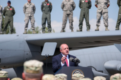 """""""პატივცემულო ჯარისკაცებო, თქვენი მონაწილეობა ამ წვრთნებში არის გარანტი იმ სტაბილურობის, იმ მშვიდობის, რომელსაც ჩვენი ხელისუფლებები ემსახურებიან"""""""