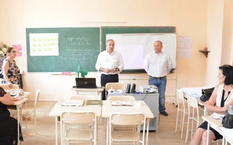 """საქართველოს მასშტაბით ტრენინგის """"სამუზეუმო მასალების გამოყენება ქართული ენისა და ლიტერატურის სწავლების ეფექტიანობისათვის"""" განხორციელება დაიწყო"""