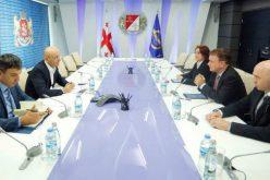 ფინანსთა მინისტრი აზიის განვითარების ბანკის ცენტრალური და დასავლეთ აზიის გენერალურ დირექტორს შეხვდა