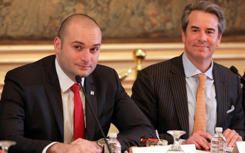 ჩვენ დღეს მოვისმინეთ საქართველოს პრემიერ-მინისტრის ხედვა იმ რეფორმების შესახებ, რომლებსაც ახორციელებს, რათა საინვესტიციო გარემო ნამდვილად მიესალმებოდეს ამერიკულ ბიზნესს-სტიუარტ ჰოლიდეი