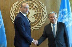 პრემიერ-მინისტრი გაეროს გენერალურ მდივანს საქართველოს მთავრობის სამშვიდობო ინიციატივაზე ესაუბრა