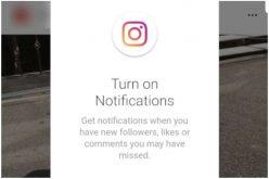 პირველად, Instagram-ის ვებგვერდის ვერსიას ნოტიფიკაციები დაემატა.