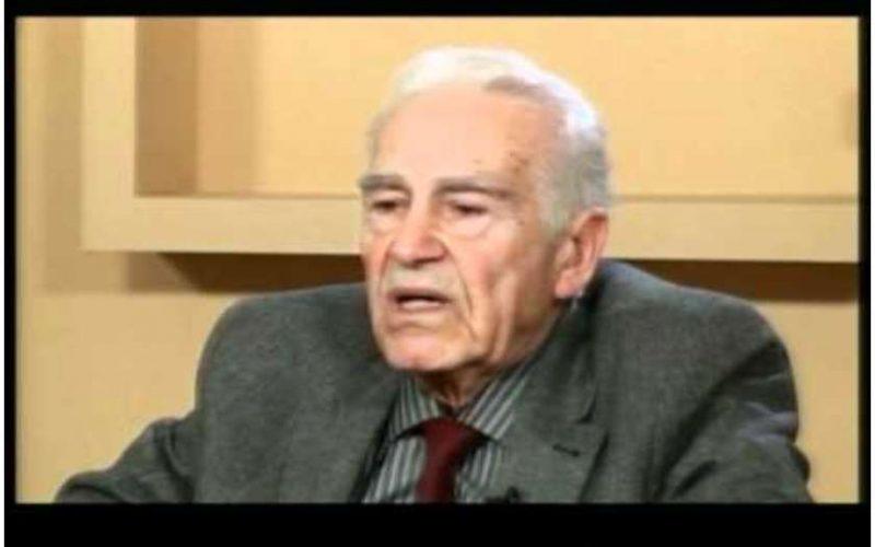 მეცნიერი და ფილოსოფოსი გურამ თევზაძე 86 წლისა გარდაიცვალა.