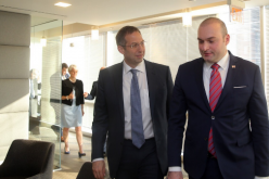 პრემიერმა და NDI-ის პრეზიდენტმა საქართველოში არსებულ წინასაარჩევნო გარემოზე ისაუბრეს