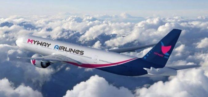 ქართული ავიაკომპანია Myway Airlines ევროპის რამოდნიმე მიმართულებით რეგულარული საჰაერო მიმოსვლის განხორციელებას იწყებს