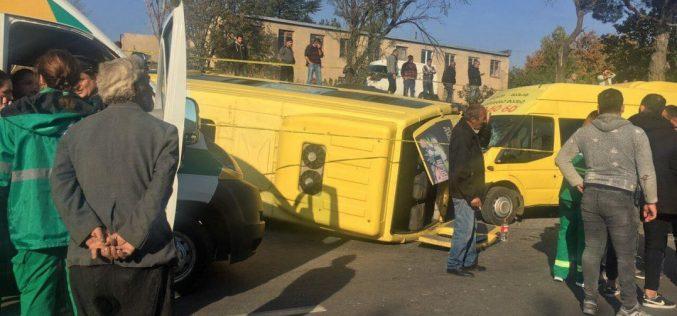 ლილოში ავტოსაგზაო შემთხვევა მოხდა