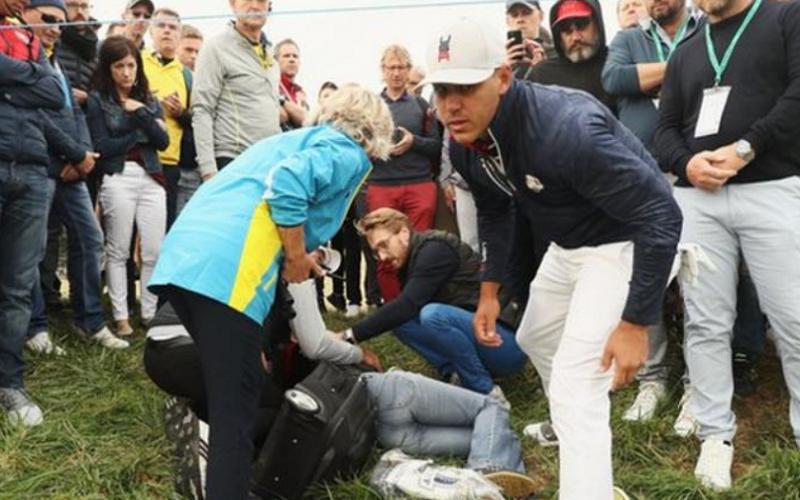 საფრანგეთში გოლფის მაყურებელს-49 წლის კორინ რემენდეს ბურთი მოხვდა და მხედველობა დაკარგა