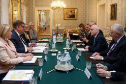 """ჩვენ დაინტერესებულნი ვართ საქარველოსა და ფინეთს შორის პოლიტიკური და ეკონომიკური ურთიერთობების გაღრმავებით"""""""
