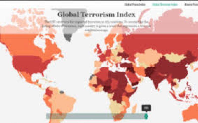ეკონომიკისა და მშვიდობის ინსტიტუტის (IEP) ტერორიზმის გლობალური ინდექსის ბოლო მონაცემებით, საქართველოს პოზიციები 12 პუნქტით გაუმჯობესდა.