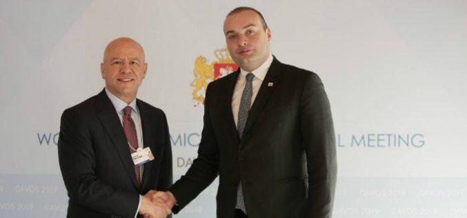 მამუკა ბახტაძემ და Koç Holding-ის აღმასრულებელმა დირექტორმა პოტენციურ საინვესტიციო პროექტებზე იმსჯელეს