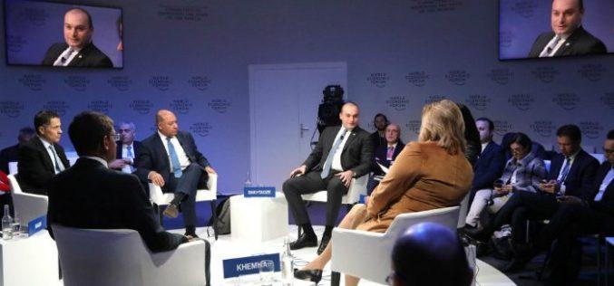 """""""ჩვენს რეგიონს აქვს უზარმაზარი ეკონომიკური პოტენციალი და ერთობლივი ძალისხმევით ჩვენ უნდა გამოვიყენოთ ეს ეკონომიკური ღირებულება გლობალურ ეკონომიკაში"""""""