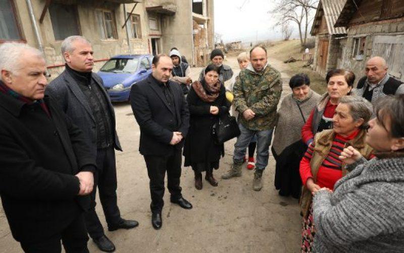 ფინანსთა მინისტრის მოადგილე ლერი ბარნაბიშვილი, სიღნაღის მუნიციპალიტეტის სოფლების მოსახლეობას შეხვდა