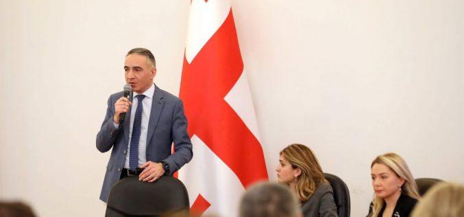 განათლების მინისტრი ზუგდიდში სტუმარ-მასპინძლობის სასწავლებლის გახსნას აანონსებს