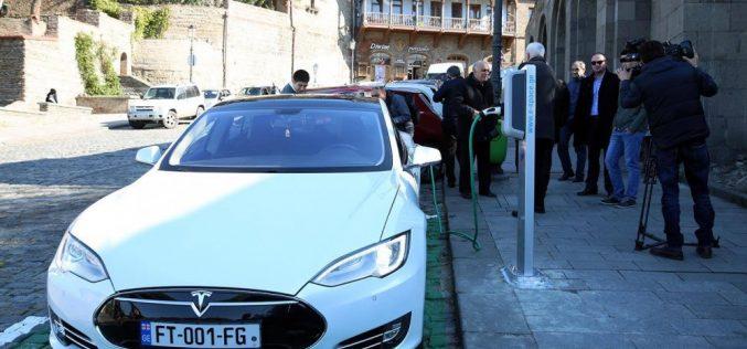 თბილისში ელექტროდამტენებს კონკურსის გზით შერჩეული კერძო კომპანია დაამონტაჟებს
