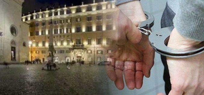"""რომში """"ნაციონალური მოძრაობის"""" სამი წევრი """"მომავლის ფორუმის"""" დაწყებამდე დააკავეს"""