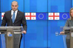 ვაფასებთ ევროკავშირის მტკიცე მხარდაჭერას საქართველოს სუვერენიტეტისა და ტერიტორიული ერთიანობისადმი-მამუკა ბახტაძე